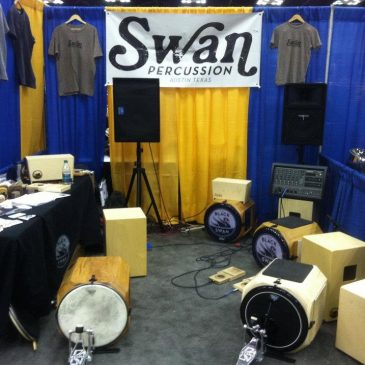 Swan Percussion Returns to the Percussive Arts Society International Conference!
